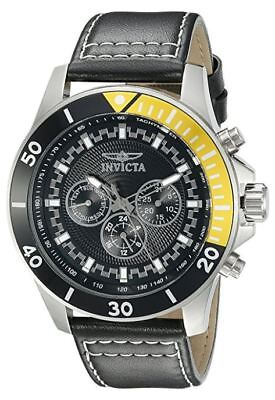 Invicta 21479 Pro Diver Men's 48mm Chronograph Stainless Steel Black Dial Watch