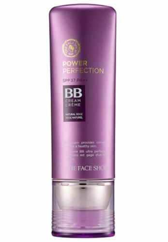 [The Face Shop] Power Perfection BB Cream SPF 37 PA++ 40g - #V201 Apricot Beige
