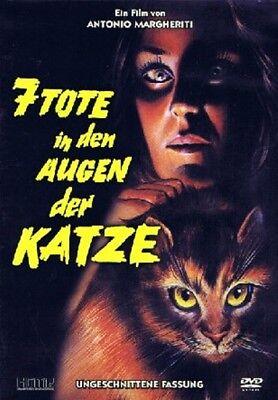 Antonio Margheriti's 7 Tote in den Augen der Katze (Horror-Thriller) Jane Birkin (Tote Katzen Halloween)