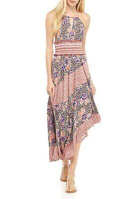 NWT Free People Intimately Gabriella Floral Print Slip Dress Size L-$118