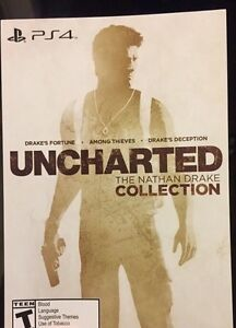 Uncharted collection digital code unused