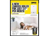 Plumber and Boiler and central heating
