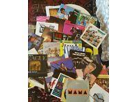 96 Vinyl 80s Singles with Original Sleeves..