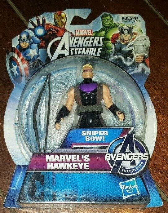 Marvel Avengers Assemble Phoenix Bow Hawkeye Action Figure 3.75 Inches