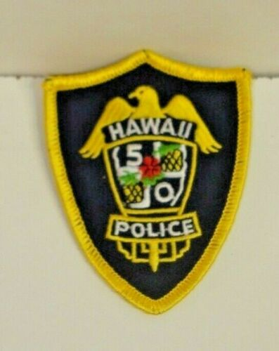 HAWAII   POLICE OFFICER  patch