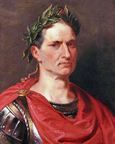 Roman Politician GAIUS JULIUS CAESAR Glossy 8x10 Photo Painting Print Poster