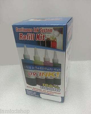 Gigablock 4 Colors Cis Refill Ink Kit For Brother Lc71 Lc...