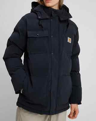 Chaqueta Hombre Carhartt Alpine Abrigo (Oscuro Navy/Hamilton Marrón) Talla L