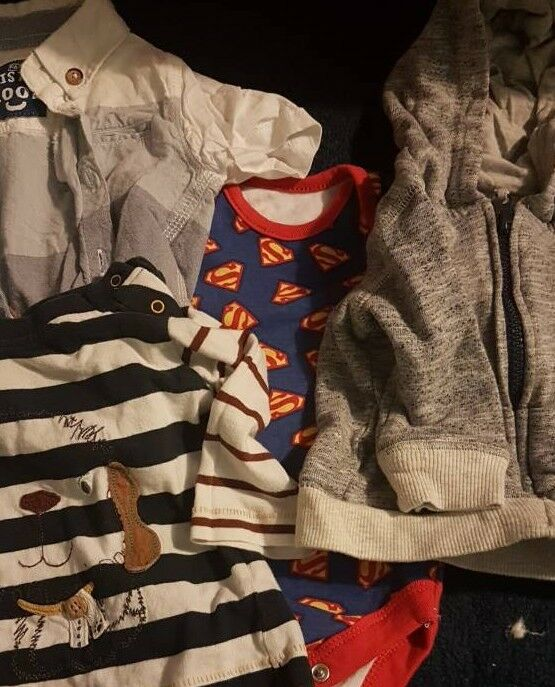 Small bundle 0- 3 months baby boy clothes