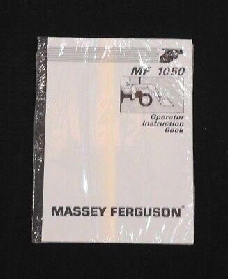 Genuine Massey-ferguson 251xe 271xe 281xe Tractor 1050 Loader Operators Manual