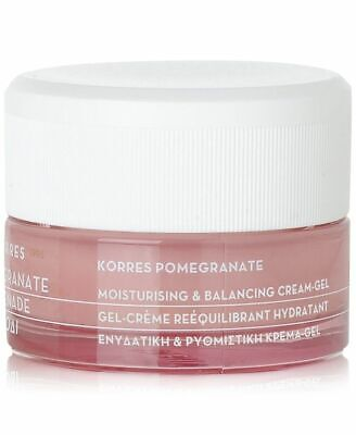 Korres Pomegranate Moisturising & Balancing Cream-Gel, Pore-Minimizing, 1.35 oz Moisturising Gel Cream
