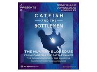 Two tickets to see catfish and the bottlemen in London