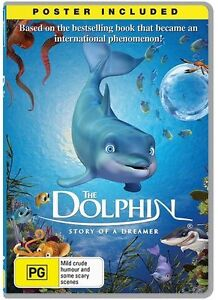 The Dolphin - Story Of A Dreamer (DVD, 2014) BRAND NEW! Free Post