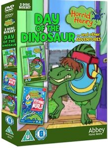 Horrid Henry: Day of the Dinosaur and Other Adventures (Box Set) [DVD]