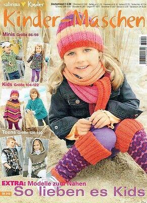 Sabrina SK010 KINDERMASCHEN Trendy Strick & Nähmode für Kids 86-140