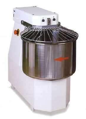 Spiral Dough Mixer 50 Liters - 42kgs - 2 Speed - Made In Italy - Patented Spiral