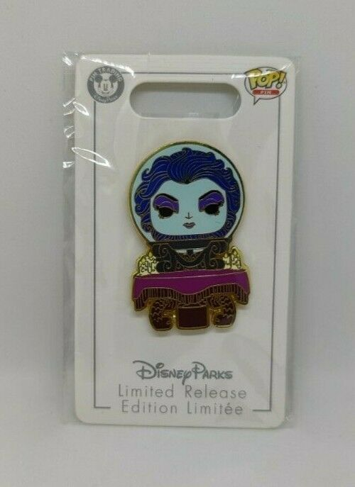 Madame Leota Haunted Mansion Ghost Funko Pop Limited Release Disney Pin