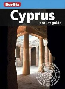 CYPRUS POCKET GUIDE BERLITZ - NEW - 2016 - INFORMATION