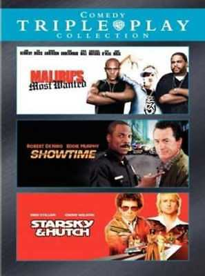 Comedy Triple Play Collection (Malibu's Most Wanted / Showtime / NEW DVD ()