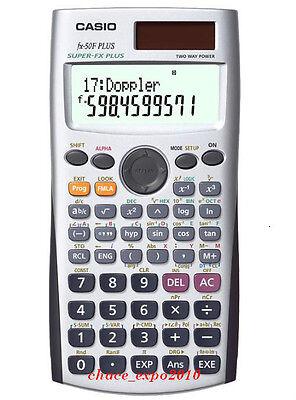New Casio Scientific Calculator FX-50F PLUS(FX 50F/50FH