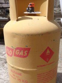 13KG Butane Gas Bottle (Almost full)