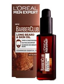 Brand New LOREAL Men Expert Barber Club Long Beard And Skin Oil
