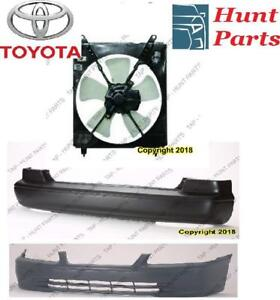 Toyota Camry 1997 1998 1999 2000 2001 Bumper Absorber Ac Compressor Fan Assembly Front Rear Bumper Cover Arm  Stay