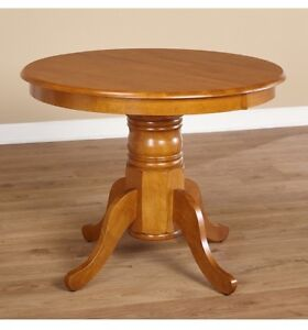 Oak Dining Table Round/Oval