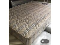 Double orthopaedic mattress. Free local delivery