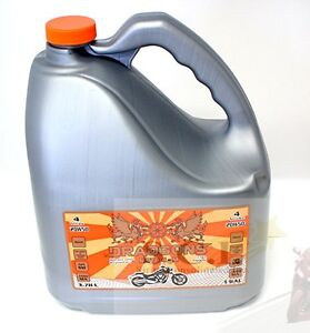 MOTORCYCLE ENGINE OIL MOTO 4-M 20W50 ENGINE OIL 3.78 LITERS Kitchener / Waterloo Kitchener Area image 1