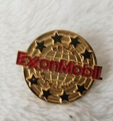Exxon Mobil Retail Excellence Employee award Gas Oil Petroleum 1980s 1990s ou31