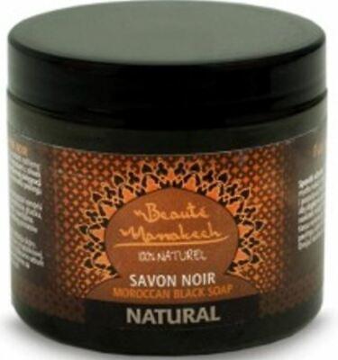 Beauté Marrakech 100% Natural Savon Noir Moroccan Black Soap 200g Jar