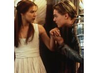 1 x ROMEO & JULIET SECRET CINEMA TICKET FOR *SOLD OUT* THURSDAY 23rd AUGUST