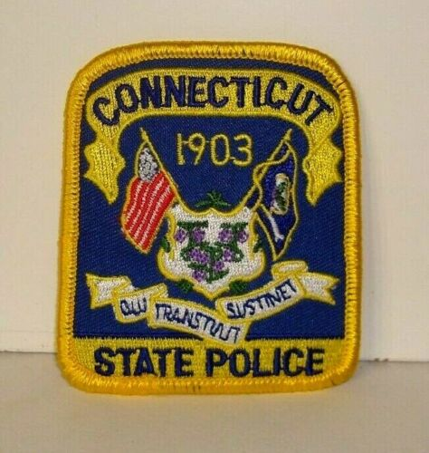 CONNECTICUT STATE  POLICE OFFICER  patch