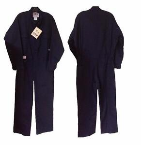 Geliget Flame Resistant FR Deluxe Navy Coveralls (BRAND NEW!)