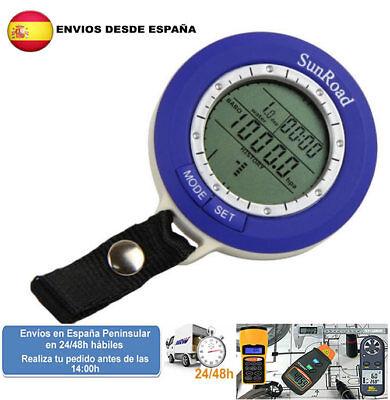 Barometro altimetro digital mini termometro brujula (Envio express)