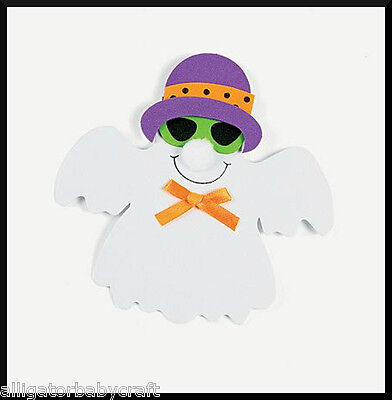 Halloween Craft Kit for Kids Happy Ghost in Disguise Magnet Party Favor ABCraft  - Halloween Craft For Kids