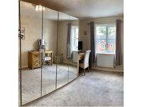 Next mirrored modular wardrobes x 2
