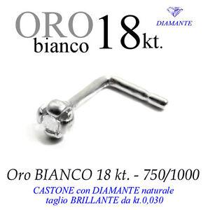 Piercing-naso-nose-GRIFF-4-punte-ORO-BIANCO-18kt-DIAMANTE-kt-0-030-white-gold