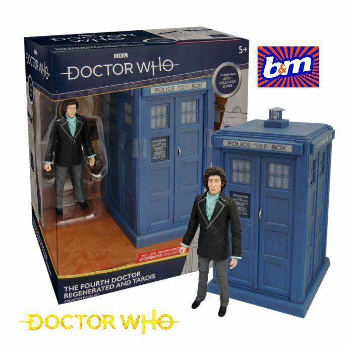 dos Dr /'s Coleccionistas Doctor Who la cuarta Dr /& Tardis de Shada los Sontarans
