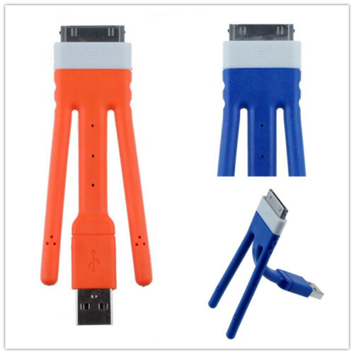 Twig Flexible Bendable Stand USB Data Sync/Charger Cable For iPHONE 4 4S 3G iPod