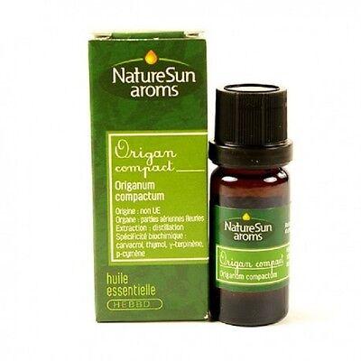 NatureSun Aroms - Aceite Esencial Oregano Compacto Bio - 10 ML