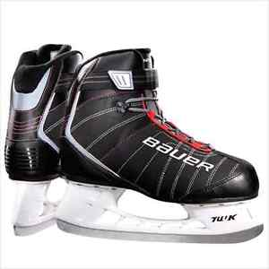 Patin à glace Bauer taille 11 comme neuf