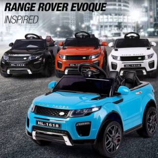 12V Ride-On Car RANGE ROVER EVOQUE Inspired Electric Toy