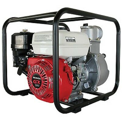 New 2 High Pressure Transfer Water Pump - 6.5hp 130 Gpm Honda Gx Engine