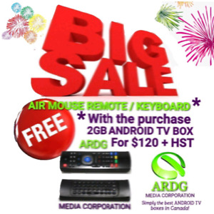 BIG SALE ON 2GB ANDROID BOX! WE PROGRAM SO YOU DON'T HAVE TO!