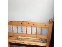 4ft (small double) wooden bed frame