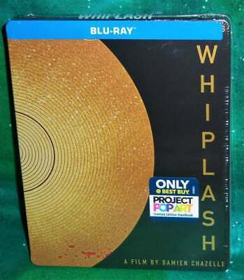 NEW BEST BUY EXCLUSIVE WHIPLASH POP ART LIMITED STEELBOOK MOVIE BLU RAY