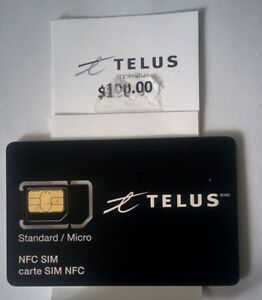BARGAIN - TELUS - $100 and SIM $20 for ONLY $40