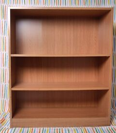 Oak Effect Bookcases - 2 Available.